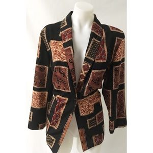 Brown Vintage Blazer Size Medium
